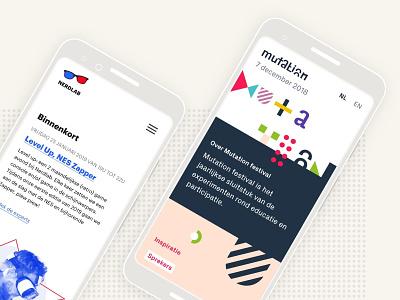 Nerdlab design branding website