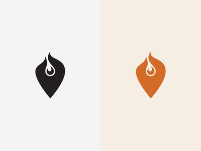 Whatshot Social Icon ui ux black and white color simple shape red design illustration flat icon material design