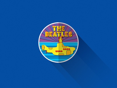 Material Beatles web vector typography type material design logo lettering illustration iconography flat design branding