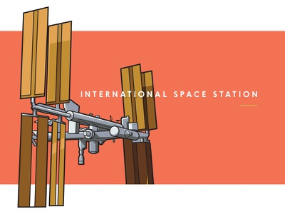 International Space Station travel solar earth mars stars cosmos flight ship usa orange space