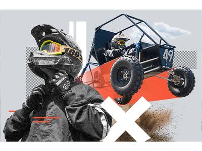 Baja Racing photography helmet x games dirt jump motorcross sports formula college