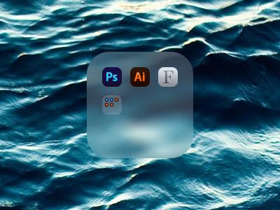 OS X Folder iOS 7 Style os x ios 7