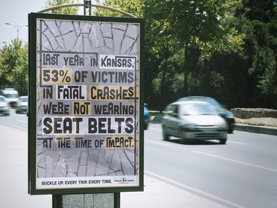 Click it. Or ticket. Poster