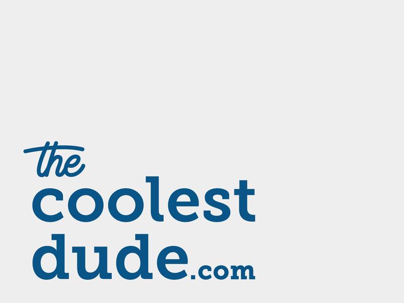 The Coolest Dude logo