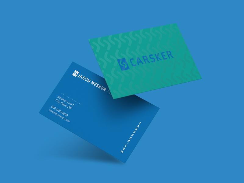 Carsker: business card business cards business card design cards clear foil gloss business dealer car business card logo design vector brand logo color color palette branding typography design