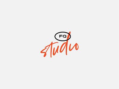 FQ Brand Exploration editorial handwritten script mark design identity lockup logo branding