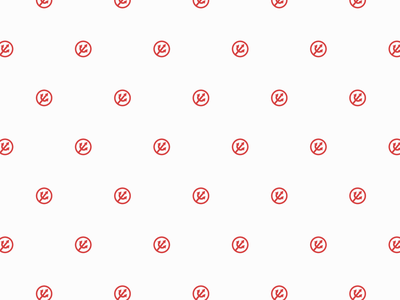 Louder than Hell icon pitchfork pattern design patterns identity logo branding