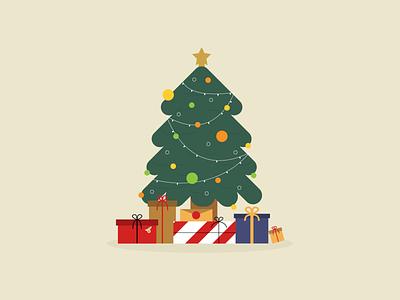 A Very Merry Citrusmas playful design presents holidays christmas citrus social media via citrus illustration