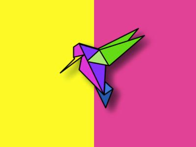 hummingbird Logo logo design branding digital marketing illustration simonechosse