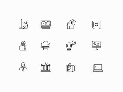 Write-offs icons 1 app simple ios ux ui safe bank icon dashcam phone icon cash icon icon set icons