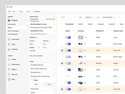 Management Dashboard minimal menubar icon set light ui clean app cms management ux ui dashboard