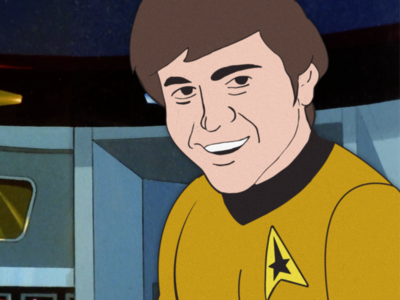 Animated Walter Koenig