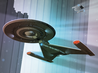 USS Discovery Boldly Going