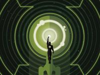 Star Trek/Green Lantern Vol 2 #3 variant cover
