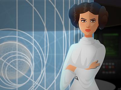 Princess Leia  1970s movies sci-fi hope carrie fisher rip princess leia star wars