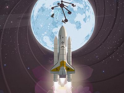 Moonraker - In honor of Roger Moore roger moore james bond moonraker