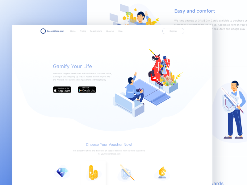 Landing Page webdesign web ui simple product page minimalism icon clean illustration landing page