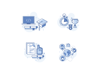 Icon ico header illustrasi sketch dasboard ui web flat illustration icon