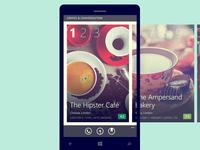 Collections—Zomato Windows Phone App