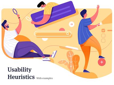 10 Usability Heuristics inspiration app design website interaction ux uiux