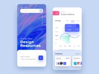 Design Resource Mobile app