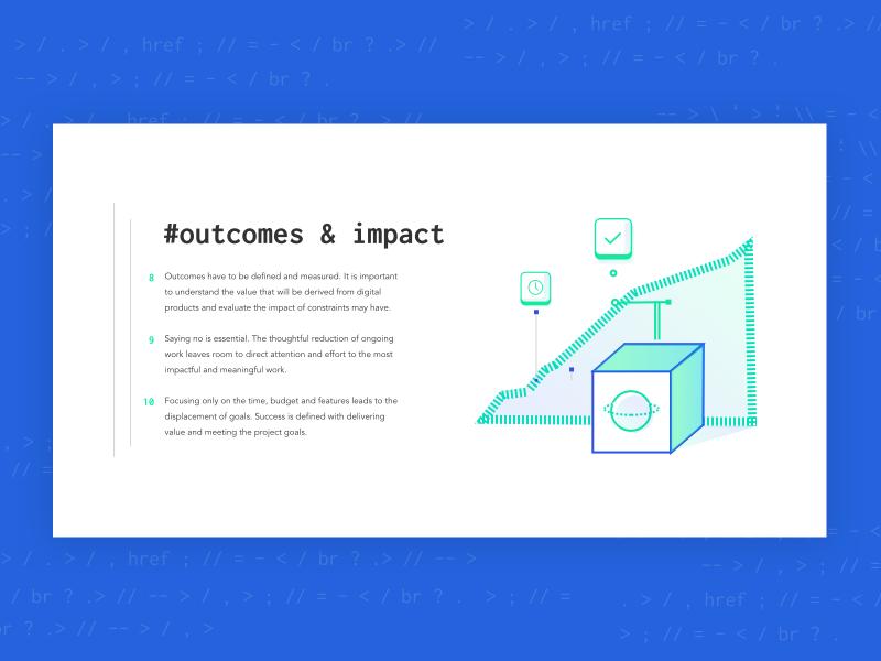 Devshop Illustration  impact dev website interface illustration