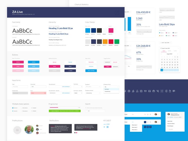 Digital Health UI Kit dashboard guidelines styleguide uikit interface platform