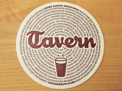 Tavern Coasters tavern beer craft beer logo united photo