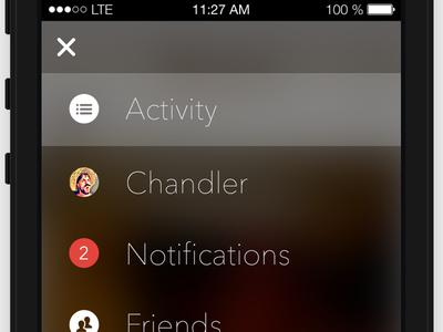 Tavern Menu for iOS 7 ios7 tavern beer mobile iphone avenir next