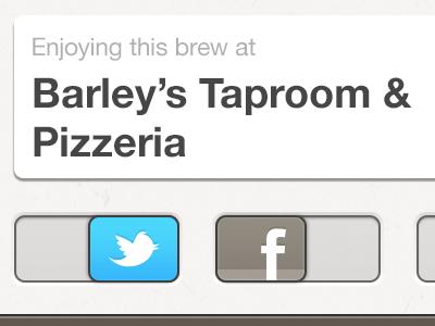 Sharing beer iphone retina social