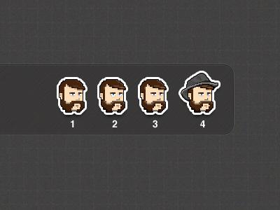 Pixelface Progression