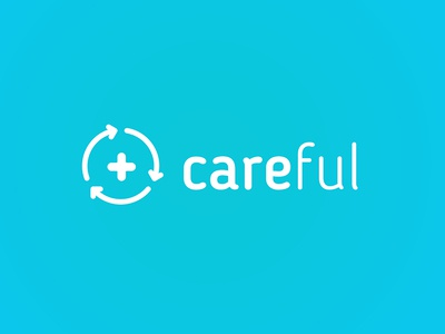 careful logo