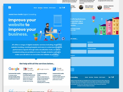 Web Design for JFS Digital Consulting