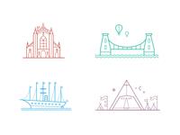 South West Landmarks