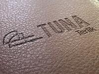 Logo printed on top - tuna slippers