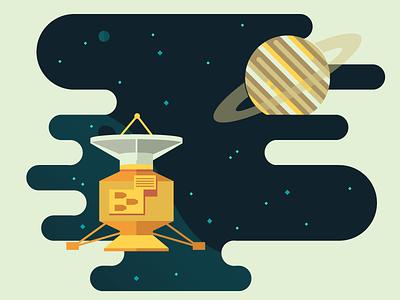 Weekly challenge: #9 Space Things nasa illustration juno jupiter starts planets travel space