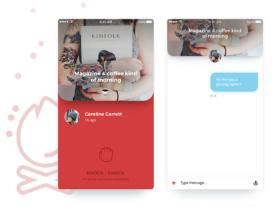Bright messenger for iOS