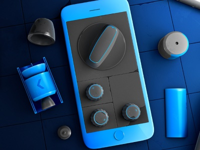 Globe Labs: Render Series – Optimize phone post-processing knobs rendering 3d