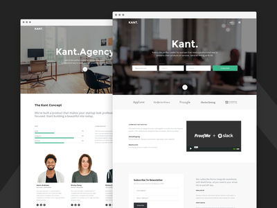 Kant - Multipurpose Template - Agency & Product Version