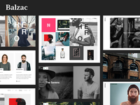 Balzac - An Ultra Creative HTML5 Template for Agencies