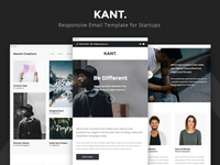 Kant - Responsive Email for Startups