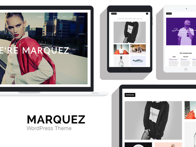 Marquez - A Creative WordPress Theme for Creatives and Agencies
