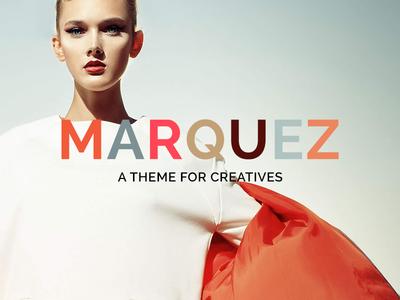 Marquez WordPress Theme Logo Variation