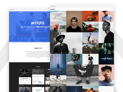 Warhol - Responsive Multipurpose WordPress Theme for Creatives