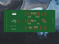 Double IPA fumée