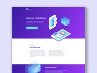 Operosa Webdesign - Landing page