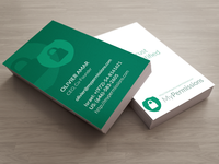 MyPermissions Business Cards