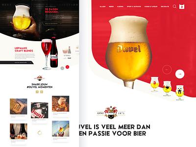 Duvel Pitch - Belgian beer part 1 ecommerce belgium devil redhead webshop red pitch duvel belgian beer