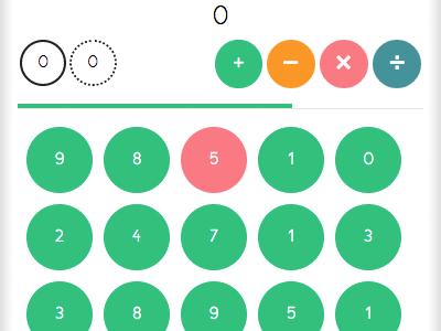 Math Game WIP html math phonegap game