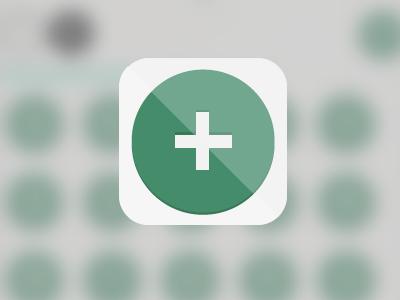 Math Game iOS icon icon math ios phonegap flat